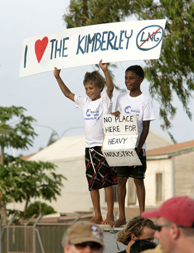 The next generation making their views known in Broome