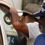 Concern as Woodside workers return to Broome after working in the bush near James Price Point. MURRANJI PHOTOGRAPHY 2011