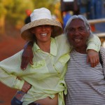 Teresa and Karen, Broome friends united. MURRANJI PHOTOGRAPHY 201