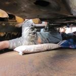 Broome hero locked on under a bulldozer
