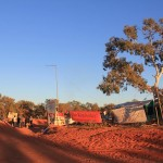 The corner of Cape Leveque rd and Manari road