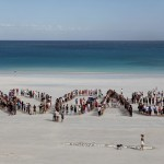 "The Broome local community spell it out :  ""No Gas at JPP"""