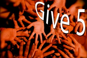 give 5 campaign no logo