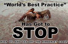 Keep OIL and GAS off the Kimberley Coast