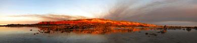 Dry Season smoke over James Price Point
